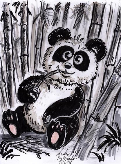 panda1WEb by develino