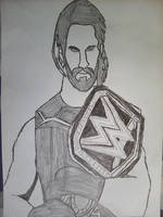 Seth Rollins by BenTheGhost6704