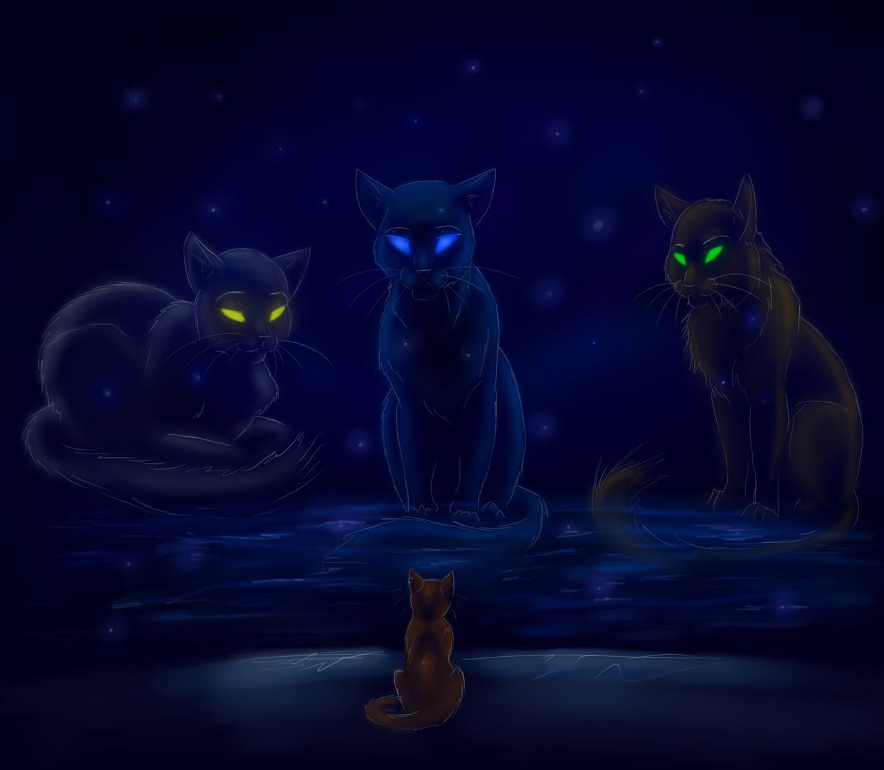Consulting With Starclan By Jazzthetiger On Deviantart