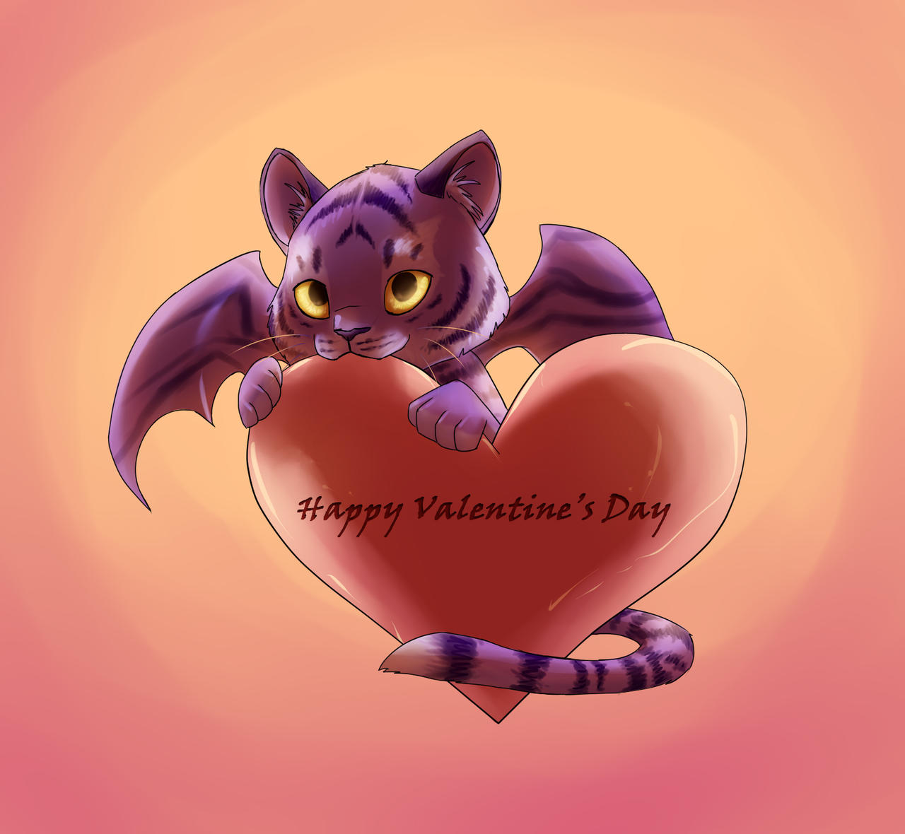 Happy Valentine's Day! by JazzTheTiger