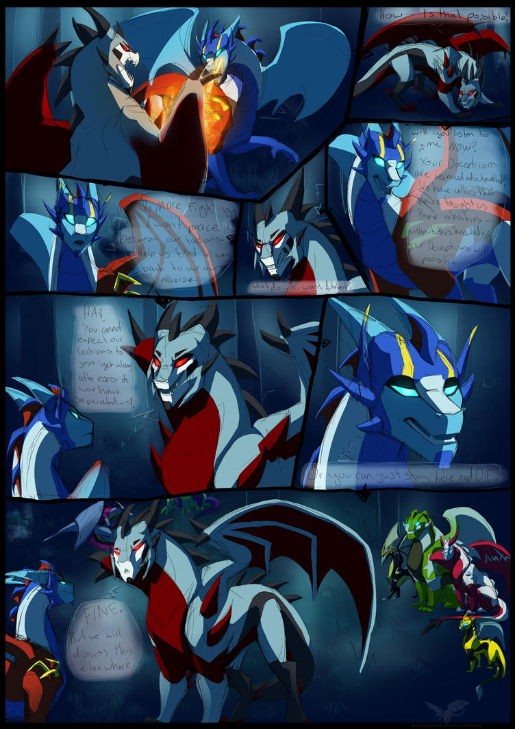 DF: Negotiating Peace  pg 1/2 by JazzTheTiger