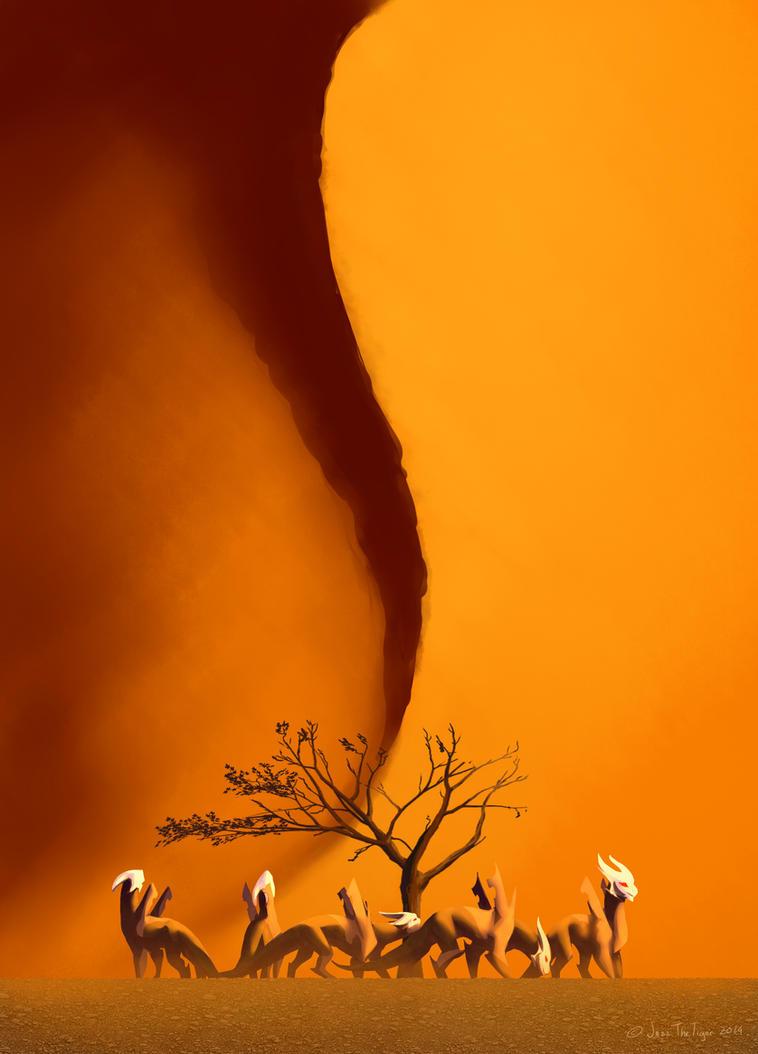 DF: Tall Sands Desert... by JazzTheTiger