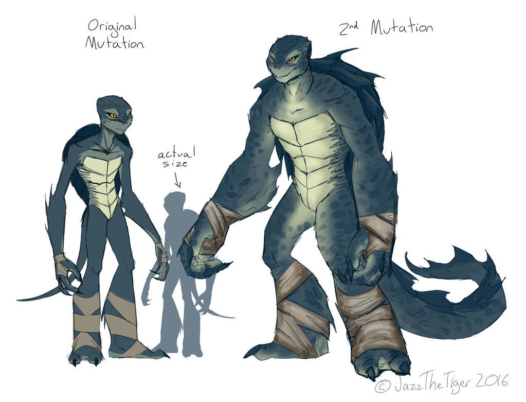 Mutant Sea Turtles - Jackson (updated) by JazzTheTiger