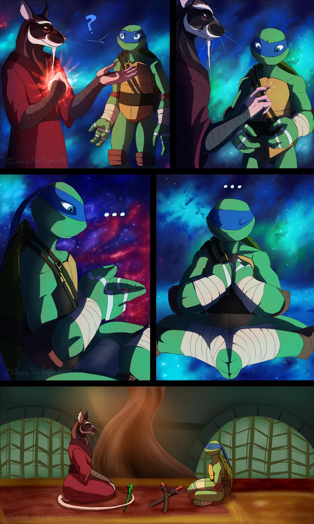 TMNT: Dragons Rising Pg 03 by JazzTheTiger on DeviantArt