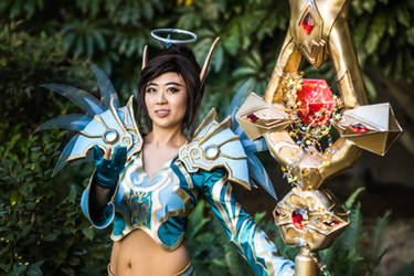 May the Light be with You Blizzcon T3 Priest by cindyrellacosplay