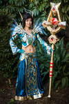 Warcraft Priest T3 Vestments of Faith, Benediction by cindyrellacosplay