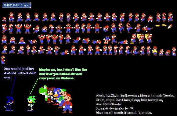 8-bit Mario by Brawlstudios on DeviantArt