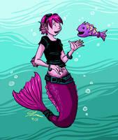 Fish talk by VanessaSatone