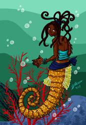 Seahorse Mermaid