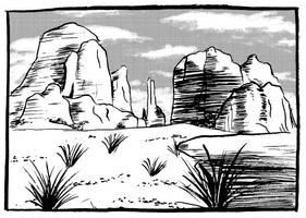 Desert by VanessaSatone