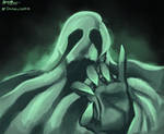 Drawlloween: Ghost