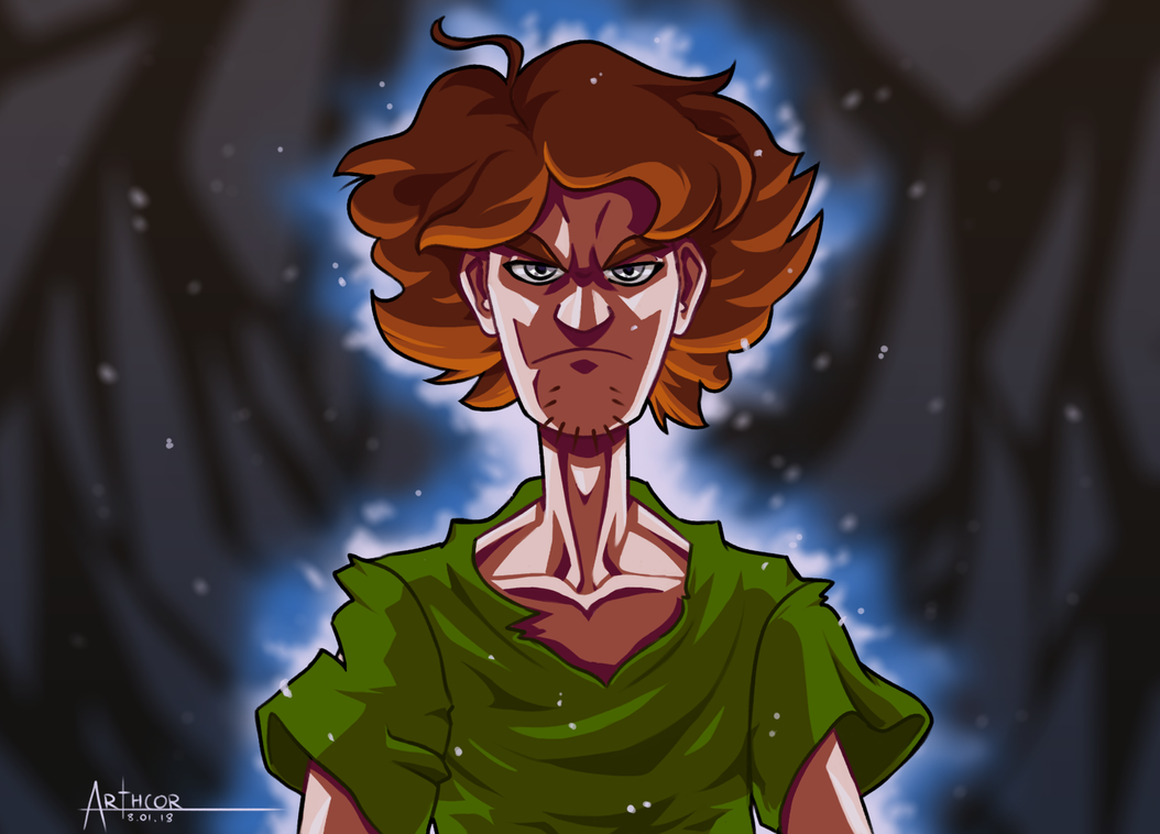 Ultra Instinct Shaggy By Arthcor On Deviantart