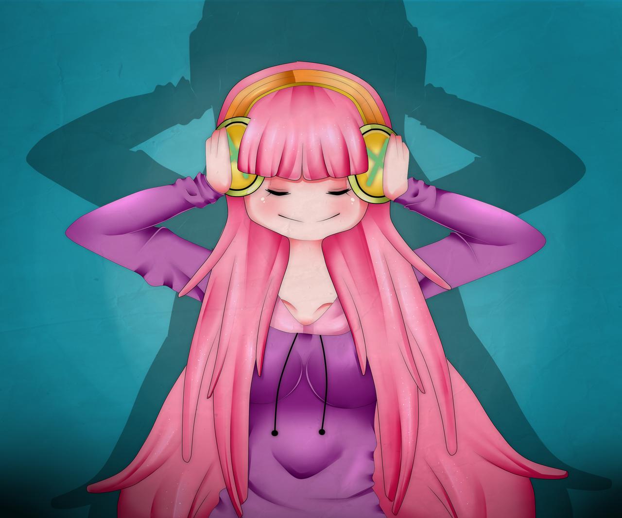 Bubblegum Princess by MichiSanIkaseko