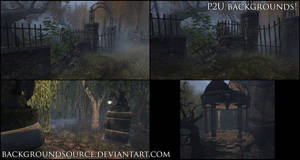 Stone And Iron - premade backgrounds