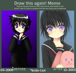 Draw this again! Meme by ruri-tan
