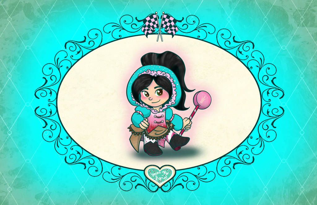Vanellope the Candy Coated Princess by Nytewell