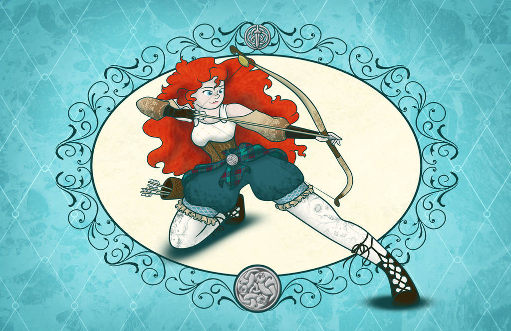 Merida A Brave Beauty by Nytewell