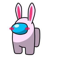 Among Us Chubby Bunny
