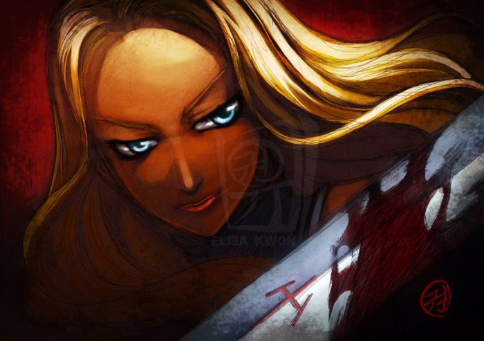 Claymore Teresa by tiggerfactory