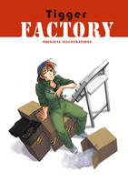 Artbook cover by tiggerfactory
