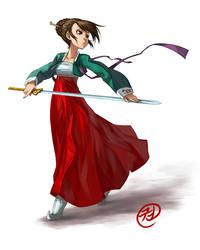 Hanbok by tiggerfactory