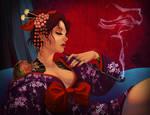 Mafia Woman by tiggerfactory