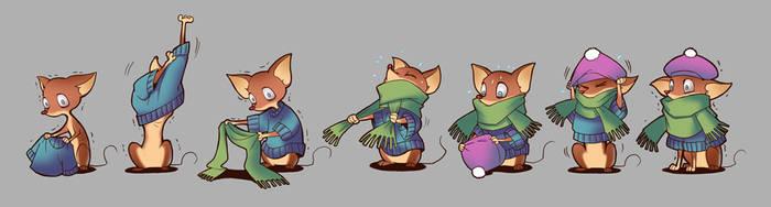 Chihuahua dressup by tiggerfactory