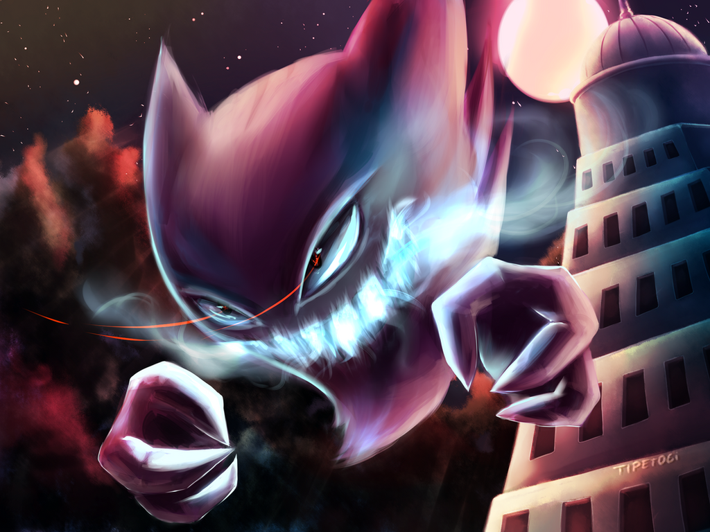 Haunter by Cotton-Monster