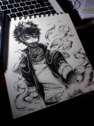 Dabi -BNHA- by Cotton-Monster