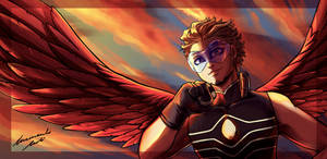 Hawks -bnha- by Cotton-Monster