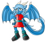 Sapphire the Dragoness