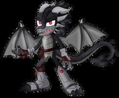 Moondra Bleck the Dark Dragon
