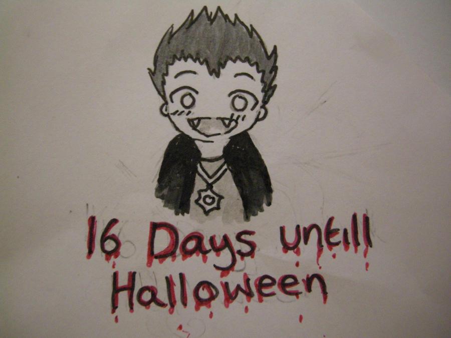 16 days till halloween XD by aprilfool14 on DeviantArt