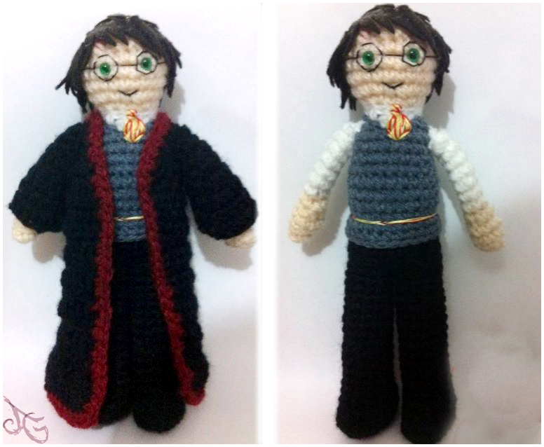 Harry Potter Amigurumi by AmiAmaLilium on DeviantArt