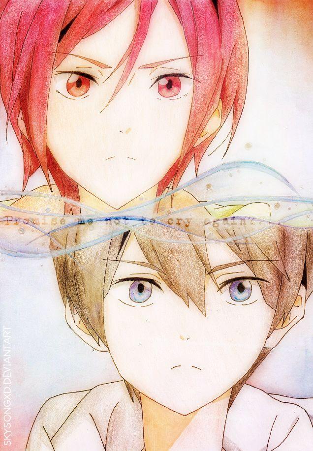 Rin and Haruka by skysongxD