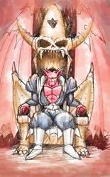 King Dabra Throne by DragonBoyTanton