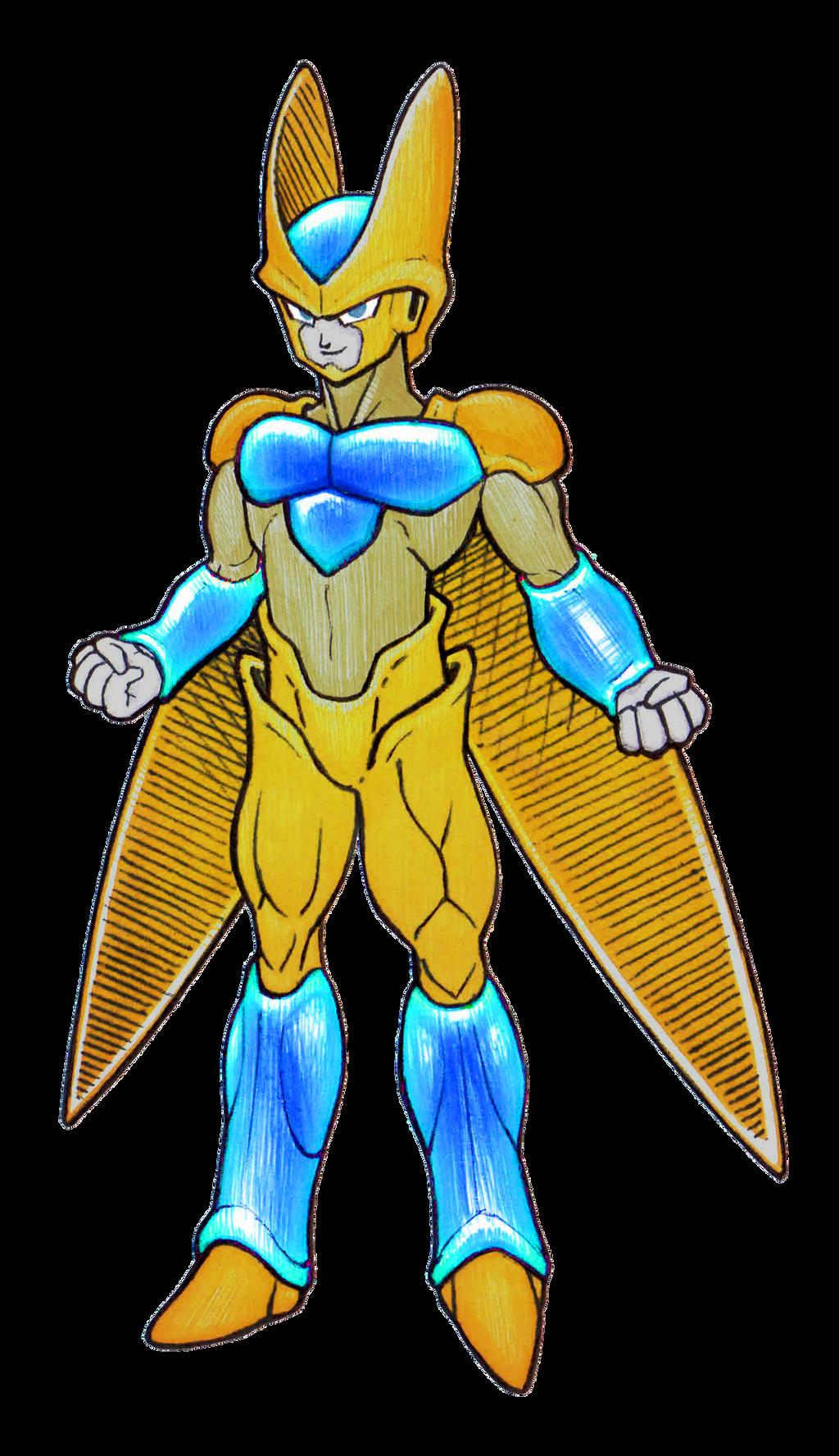 Super golden cell by dragonboytanton on deviantart - Super cell dbz ...