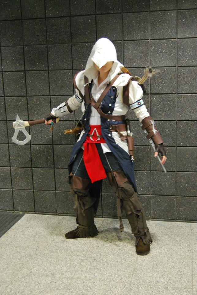 Connor Assassins Creed Cosplay By Relentlesskay On Deviantart
