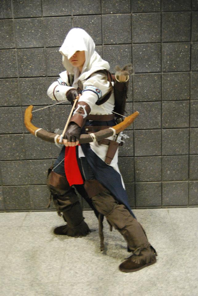 Connor Assassins Creed 3 Cosplay By Relentlesskay On Deviantart