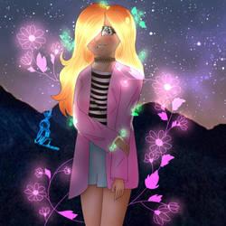Art trade - oc Miley by MVdrawzz