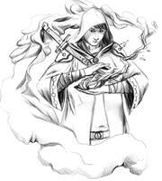 Smoke magic by otterocalypse