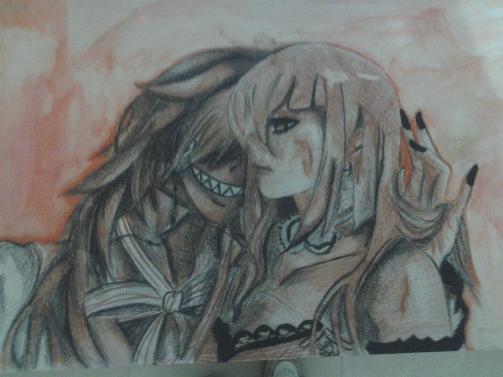 Grell and madame by Artieukchan