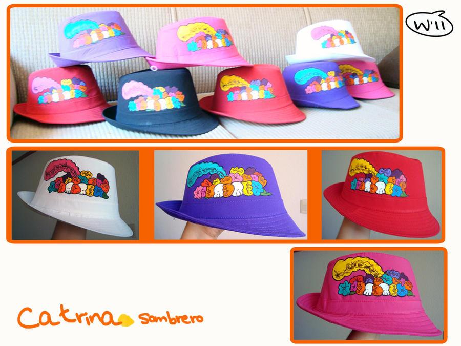Sombrero Catrina Colores by digo-personaliza