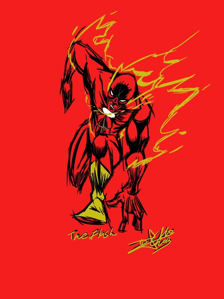 The Flash by artdan24