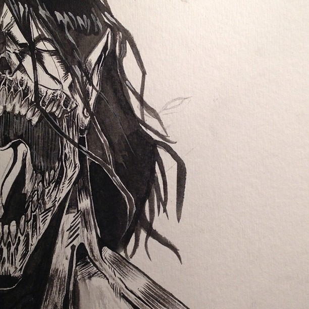 eren's titan form #3 by artdan24 on DeviantArt