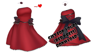 GIFT [RED DRESS] DOWNLOAD by firehoro
