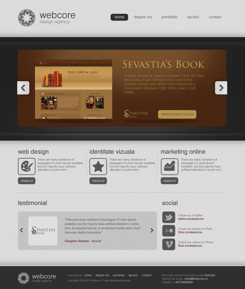 Webcore - Website by mece888