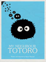 Totoro Minimalistic Poster by cstm