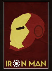 Iron Man Minimalistic by cstm