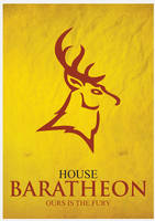House Baratheon Minimalism by cstm